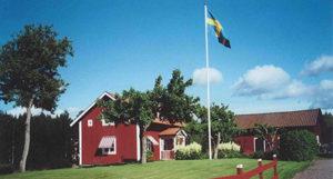 Swedish farmhouse.