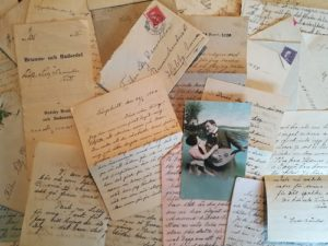 Letters from Swedish ancestors.